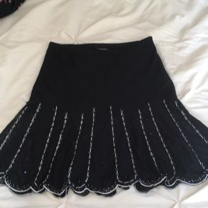Flare Sequin decorated Skirt